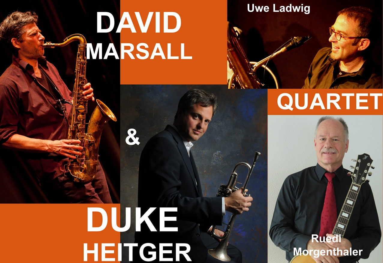 Duke Heitger & David Marsall Quartett